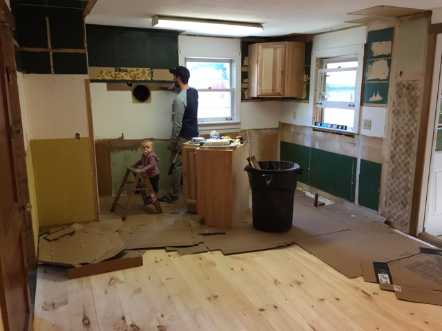 History of the Headquarters-Kitchen Remodel