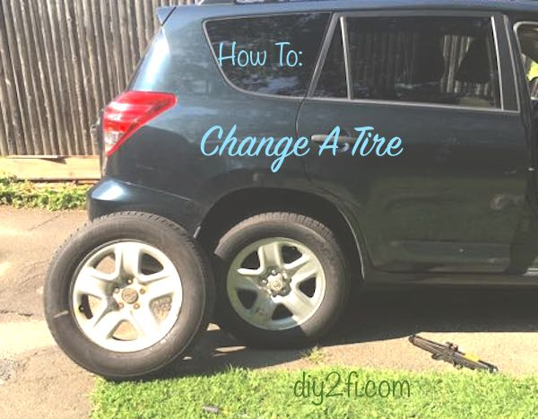 How To: Change A Tire