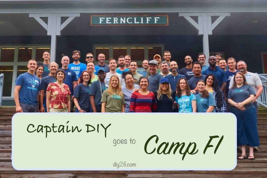 Captain DIY Goes to Camp FI