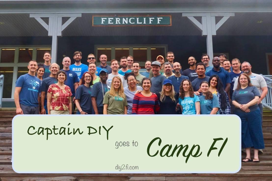 Captain DIY Goes to CampFI