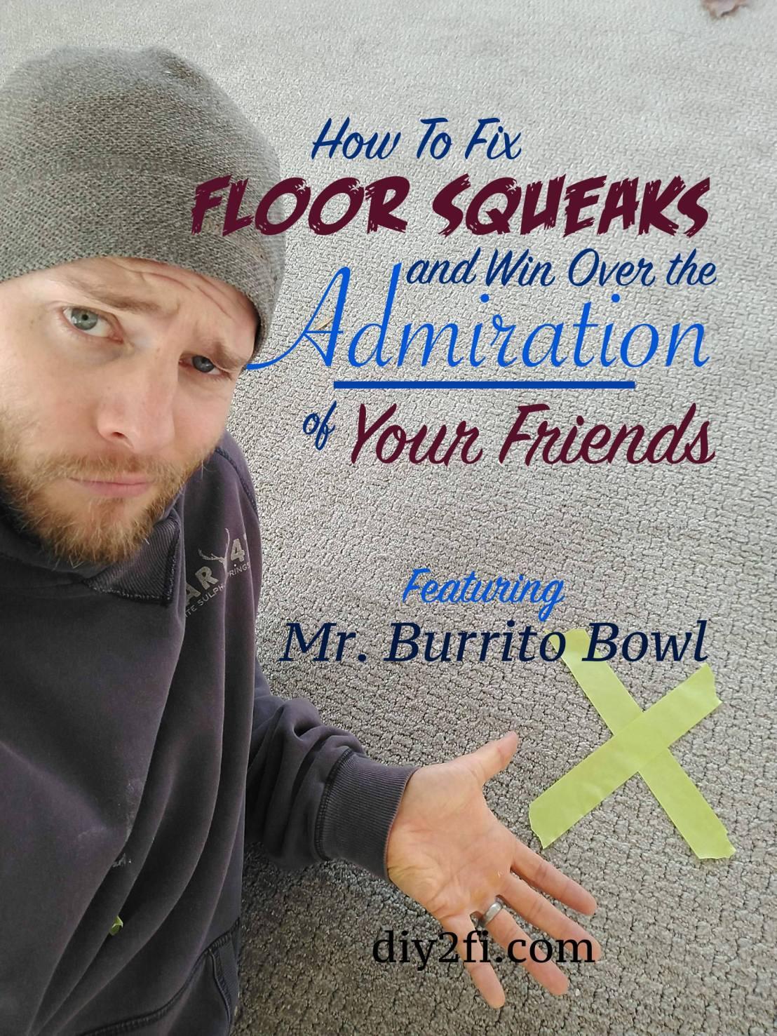 Fix Floor Squeaks Pinterest